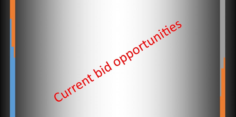 Current Bid Opportunities